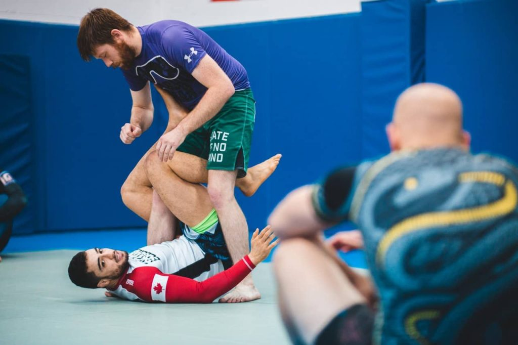 how to condition for grappling