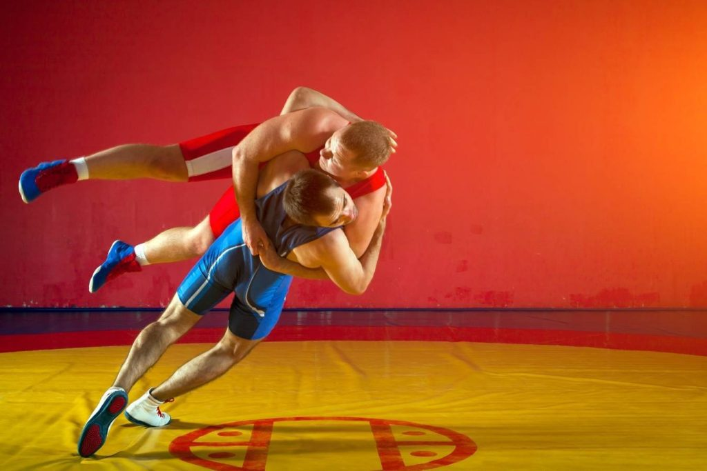 How is Sambo different from wrestling