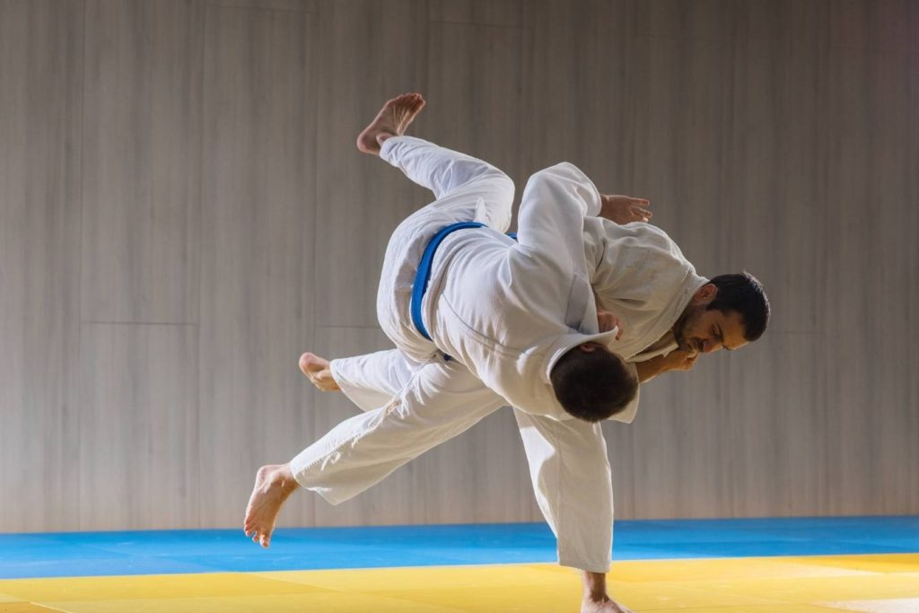 How is sambo different from judo