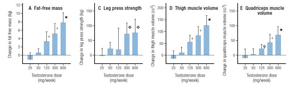 Testosterone Dose Response Relationship Men