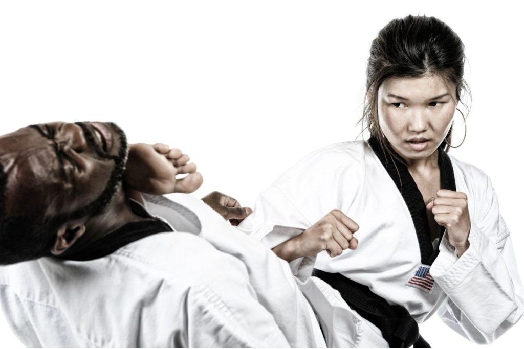 is karate or taekwondo better for self defense