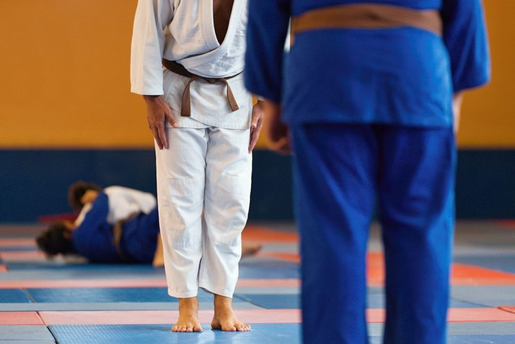 Difference between elite and non-elite Judoka