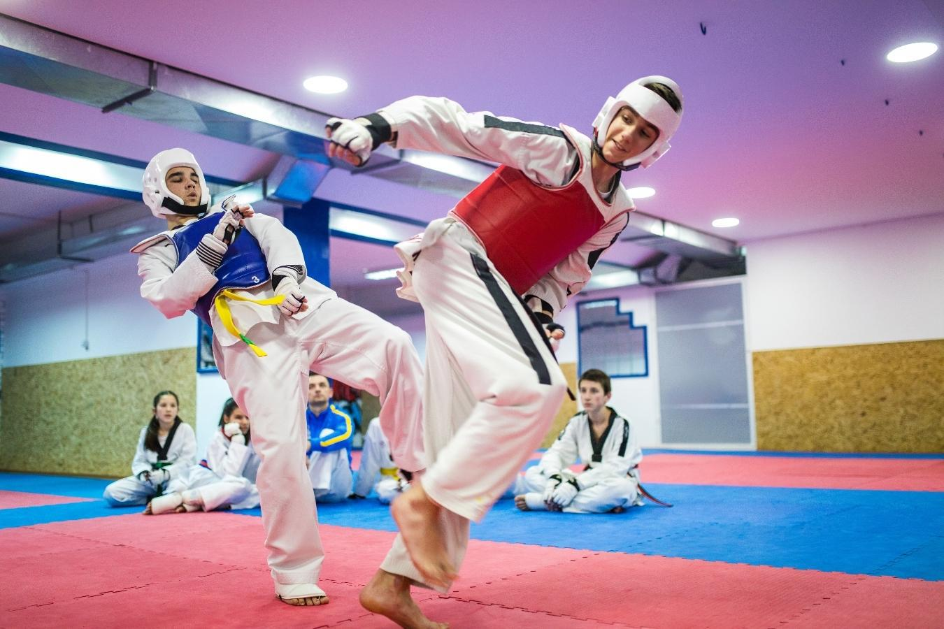 Elite vs non elite Taekwondo