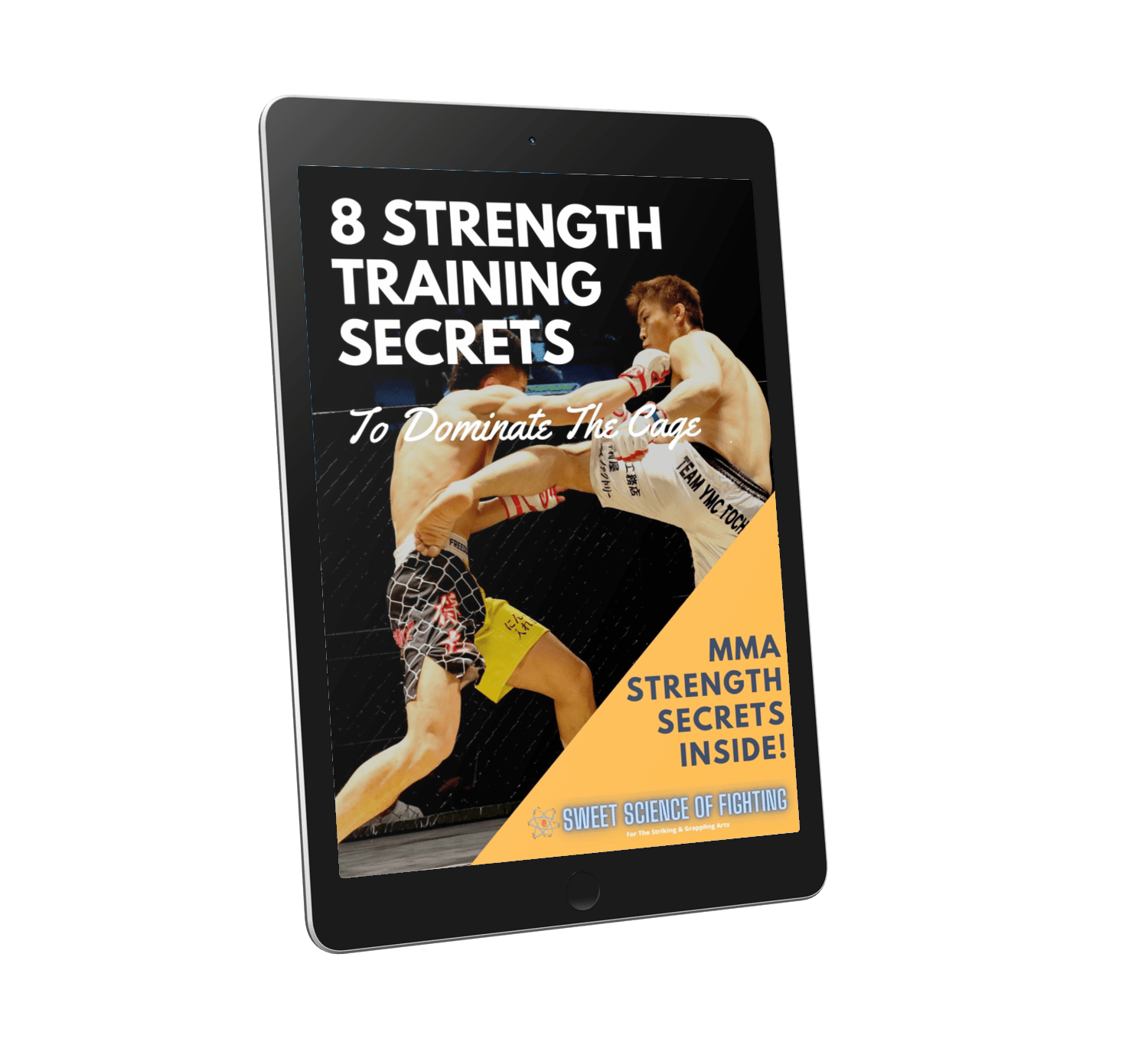 MMA Strength Tablet Cover Compressed
